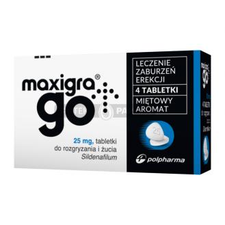 Maxigra Go, tabletki do...