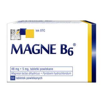 Magne B6, tabletki, 50 szt