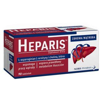 Heparis, tabletki, 90 szt