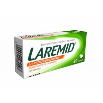 Laremid, tabletki 2 mg, 20 szt