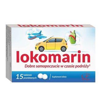 Lokomarin, tabletki, 15 szt